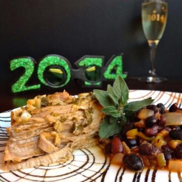 Slow Cooker Pulled Pork Recipe, Mojo Slow cooker pork, homemade mojo marinade