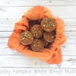Healthy pumpkin muffins, muffins made with honey
