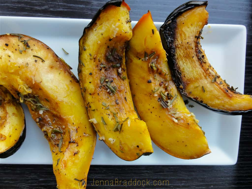 Acorn squash are no longer difficult to prepare with this no-fuss slow cooker method. Rosemary and balsamic vinegar jazz up the flavor to create a spectacular side dish. Via @JBraddockRD