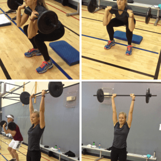 Workout Wednesday: Thrusters - the one move you should be doing. #MakeHealthyEasy | @JBraddockRD #WOD #Fitfluential
