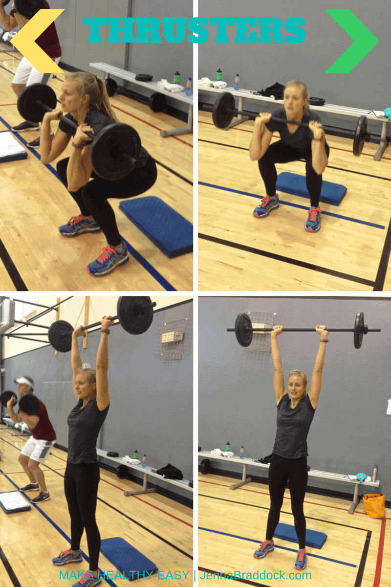 thrusters the one exercise you should do
