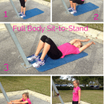 {Workout Wednesday} Full Body Sit to Stand Exercise – No Equipment Needed