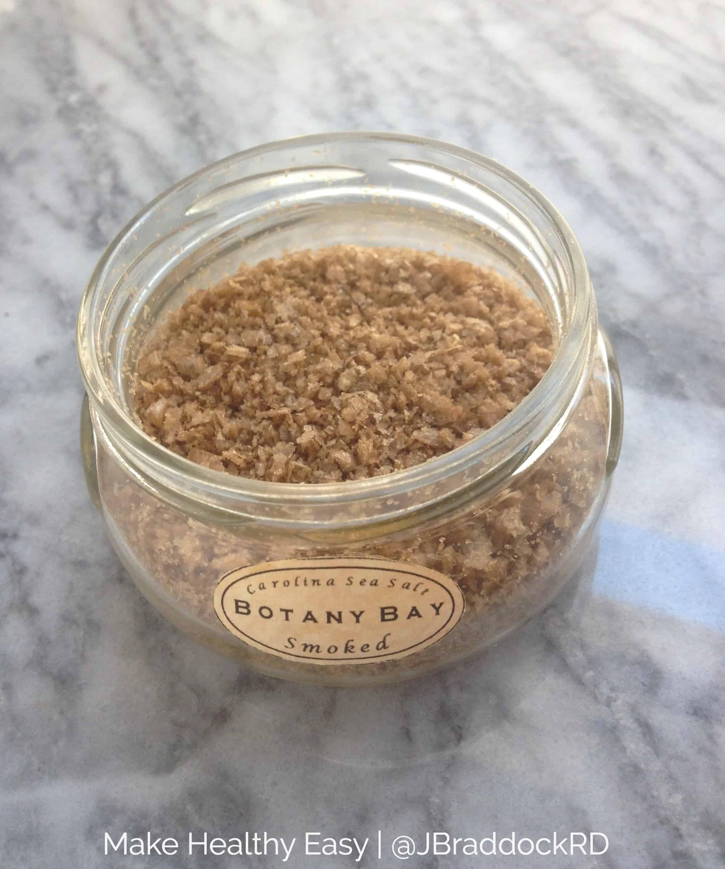 The best smoked sea salt from #Charleston South Carolina. # ...