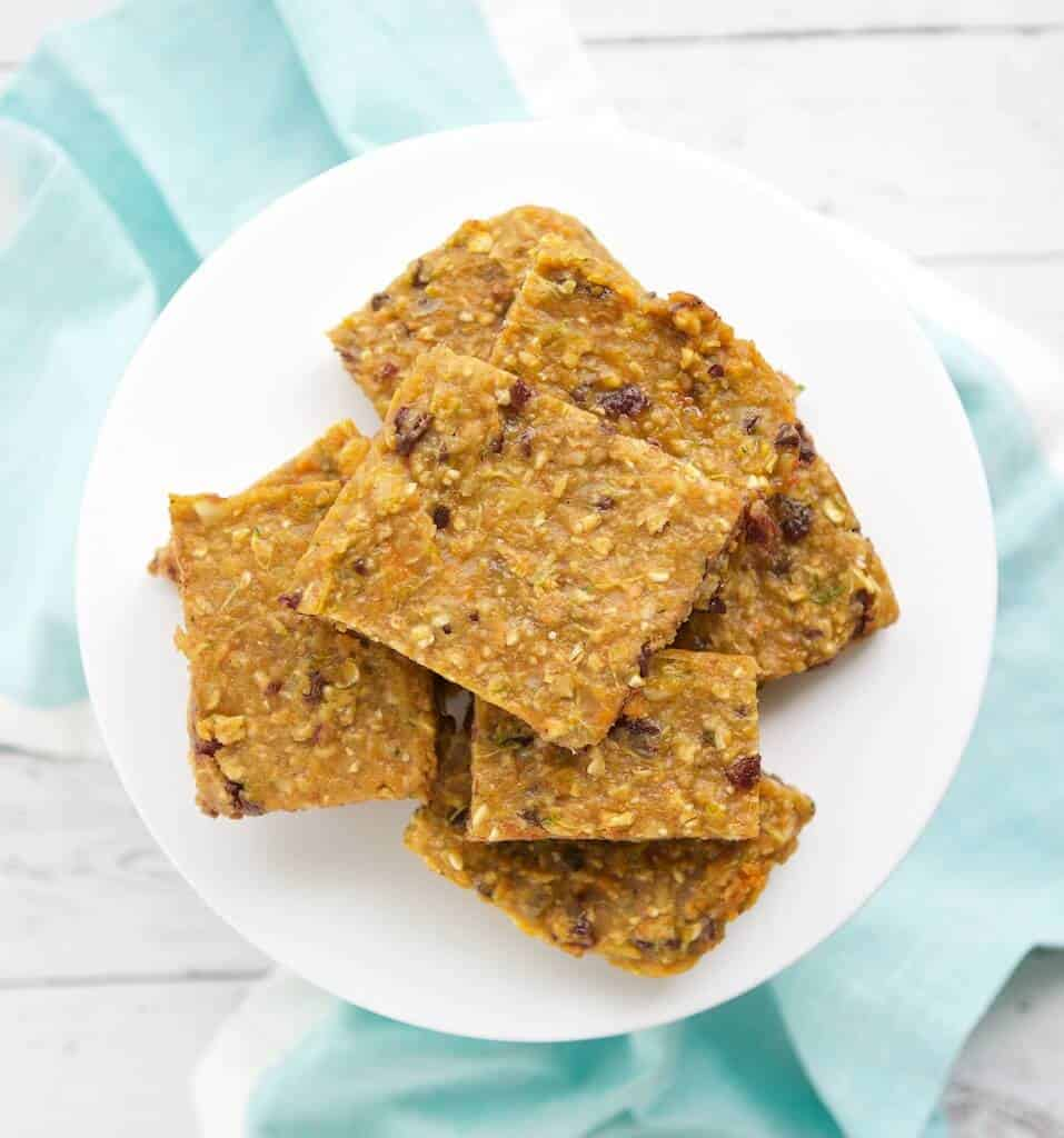 Looking for a homemade snack bar that's yummy and healthy? Try these simple Hidden Honey Bars made with whole grains, honey, and hidden veggies. They are perfect for kiddos and big people too.