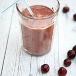 Chocolate Tart Cherry Recovery Smoothie