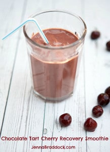 Chocolate Tart Cherry Recovery Smoothie