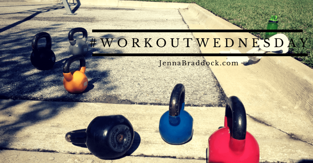 #WorkoutWednesday is a bi-monthly post on #MakeHealthyEasy that highlights a simple way to make fitness a part of your everyday life. www.JennaBraddock.com #fitness #wod #fitfluential