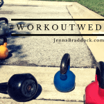 {Workout Wednesday} Single Leg Hip Bridge