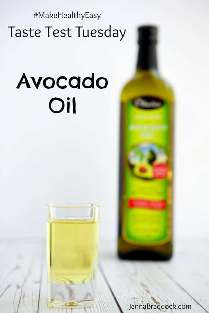 #TasteTestTuesday is a monthly feature on #MakeHealthyEasy where I review a new food, product, or service to help you decide if it's worth it. Today I review avocado oil - what it is, the nutrition profile, and how to use it for cooking and beauty. Plus, find a recipe for a simple avocado oil #vinaigrette. #Avocado #cleaneating #naturalbeauty #recipe www.jennabraddock.com