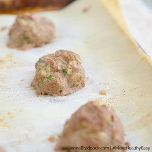 6 Ingredient Meatballs