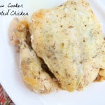 """Slow Cooker """"Roasted"""" Chicken"""