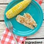 Looking for a healthy alternative to fried fish that's not super complicated? Try this simple and delicious 4 Ingredient Crunchy fish that makes a perfect, satisfying dinner every time. #MakeHealthyEasy | www.JennaBraddock.com
