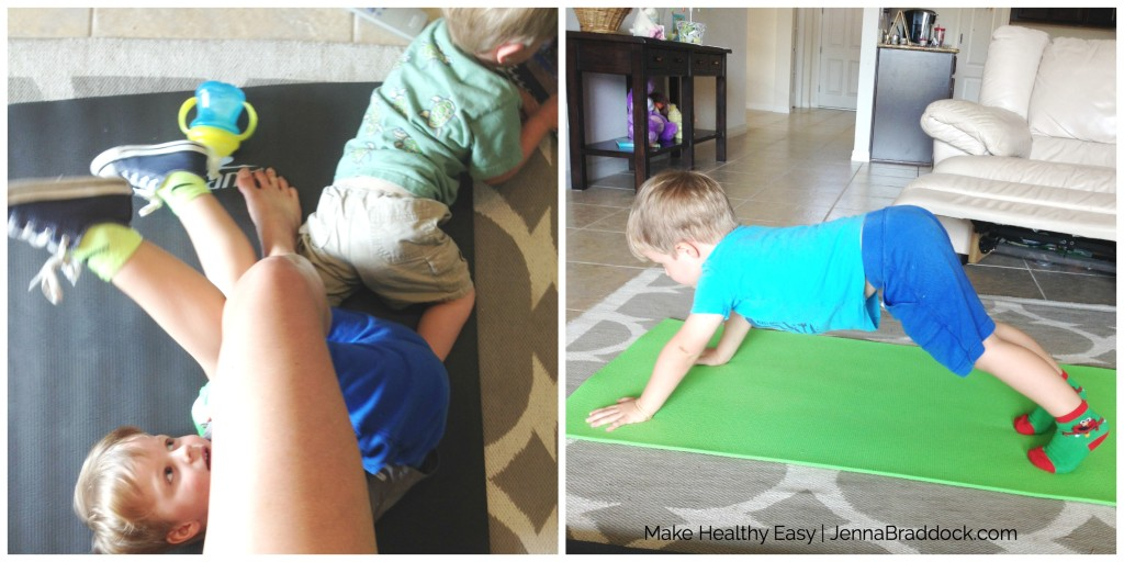#WorkoutWednesday - Online Yoga Classes -- Review of The Yoga Collective. A GREAT option for practicing at home or anywhere. via @JBraddockRD #MakeHealthyEasy www.JennaBraddock.com