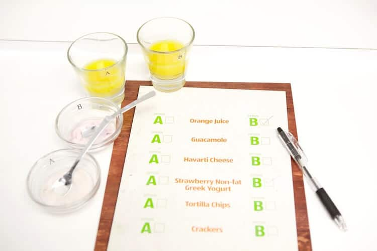 ALDI comparison to name brand products. Switch and save -- orange juice via @JBraddockRD | #MakeHealthyEasy  http://JennaBraddock.com