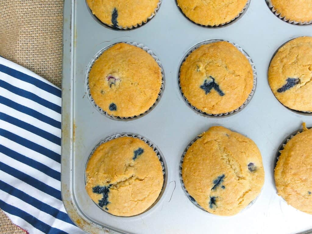 My Whole Wheat Blueberry Muffins are a healthier version of this ...