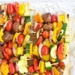 Grilled Fruit & Vegetable Kabobs