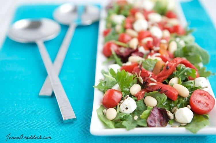 Kale italia summer salad party menu heres an easy menu for a healthy and delicious summer party featuring a recipe for kale italia summer salad that is anything but boring forumfinder