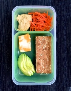 It's easy to run out of school lunch ideas, especially healthy ones. Here's a list of some new ideas to keep you going all through the school year, plus my 2 key concepts for packing a healthy lunch. #MakeHealthyEasy va @JBraddockRD http://JennaBraddock.com