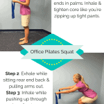 Pilates Exercise You Can Do at Your Desk