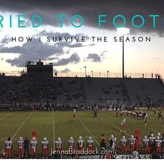 Married to Football: Life as a football coach's wife is not easy. Here's several ways how I survive the season. #MakeHealthyEasy via @JBraddockRD http://JennaBraddock.com