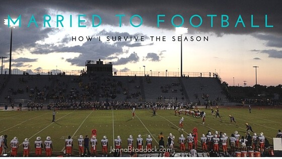 Married to Football: How I Survive the Season
