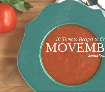 Here's 10 manly tomato recipes to celebrate Movember that you or your man are certain to like. Thanks to tomato products, all of these healthy and delicious recipes help fight cancer.