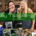 With a few easy tips you can have a delicious AND healthy spread at your next football game. Check out these Make Healthy Easy Tailgating Tips. #MakeHealthyEasy via @JBraddockRD https://jennabraddock.com