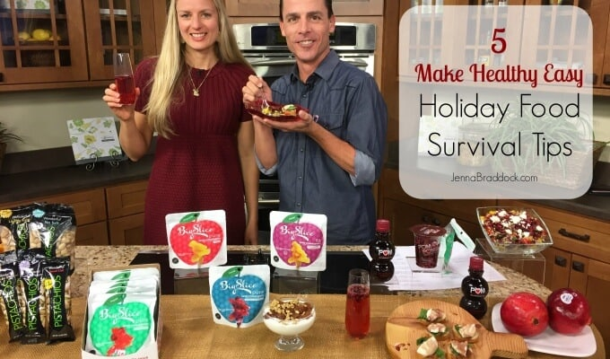 5 Make Healthy Easy Holiday Food Survival Tips