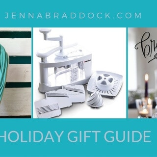Looking for a unique gift this holiday? You are certain to find a new idea the Make Healthy Easy Holiday Gift Guide. @JBraddockRD http://JennaBraddock.com