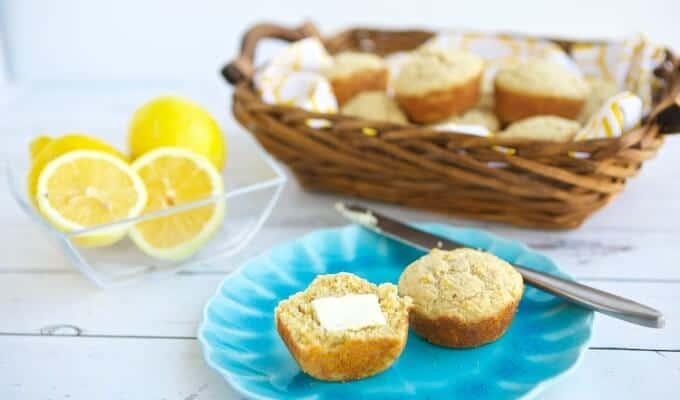 Lemon Ricotta Gluten Free Muffins