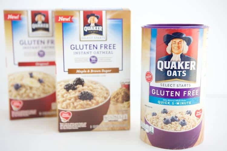 Think gluten free baking is expensive, difficult, or downright nasty? Guess again! Thanks to this Gluten free oats, gluten free baking is easy and delicious! You probably have all the ingredients you need in your pantry already thanks to using gluten free quick 1-minute oats as the flour. Oh, and they're healthy too! #MakeHealthyEasy