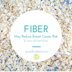 Fiber Intake May Reduce Breast Cancer Risk and How to Eat More Fiber