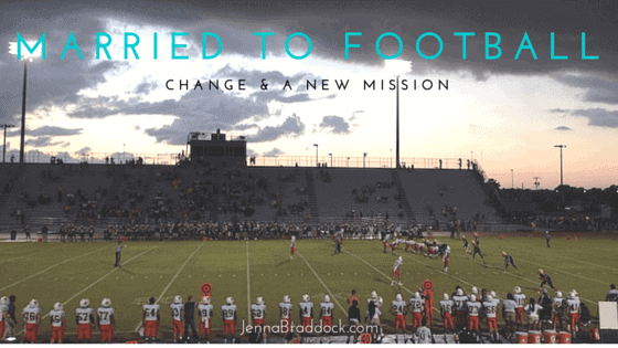 Married to Football: Change & A New Mission