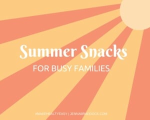 The summer time brings a shift in everyone's schedule and can throw mom's for a big loop when it comes to finding healthy foods for on the go. Get some doable, delicious and healthy ideas for your summer snacking adventures that can go wherever you go.