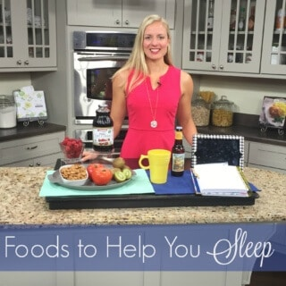 Is your sleep a little less than great? Here are foods to help you sleep and some helpful reminders on how to achieve a better night's sleep.