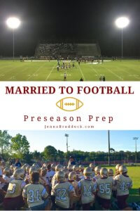 Married to Football: Preseason Prep