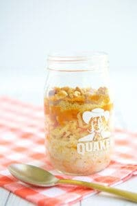 Pumpkin Apple Overnight Oats Recipe