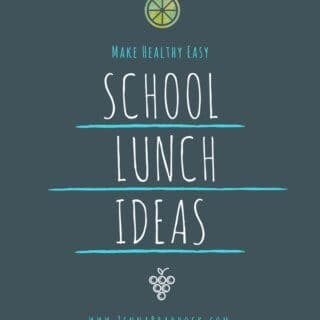 It's back to school time and that means you may need some school lunch ideas. Am I right? Here's some simple ideas and recipes to help make lunches happen without the headache.