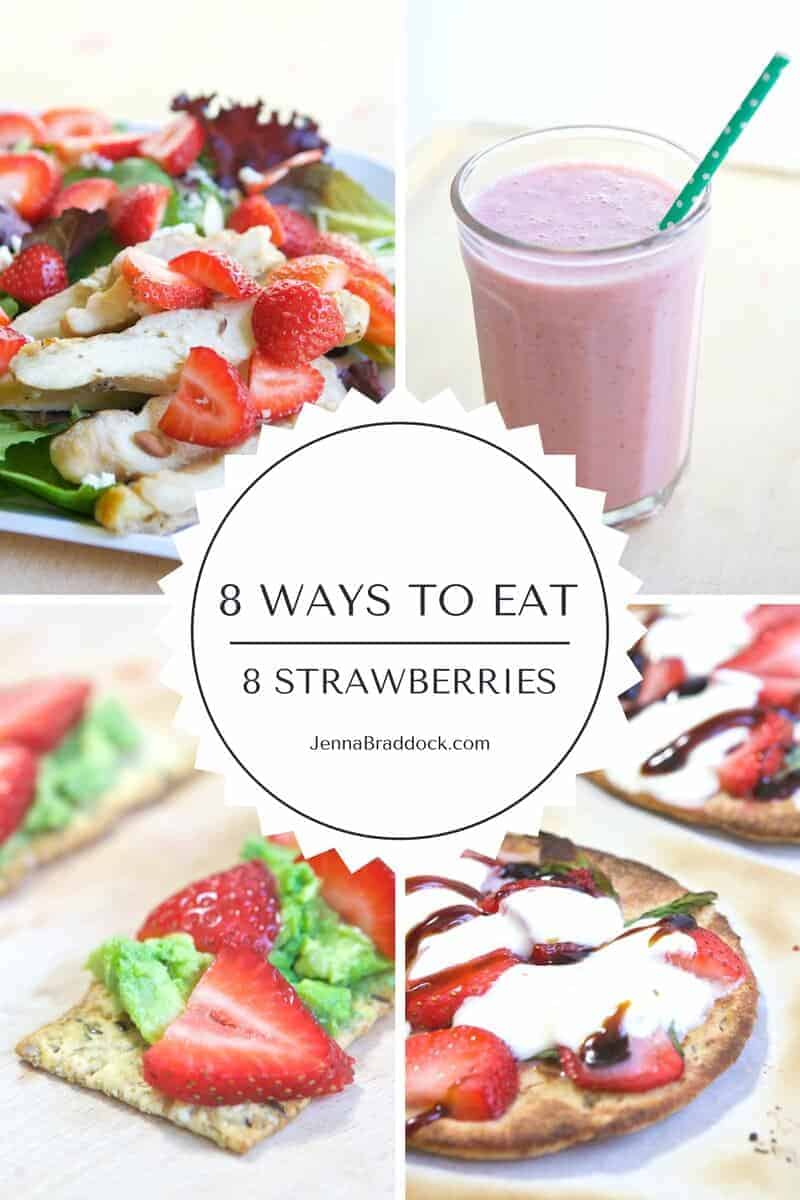 6 ways to eat strawberries English rose, sweet Eve, red princess - the three types of British strawberries on offer this summer - here are 6 new ways to enjoy them.