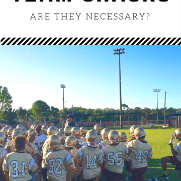It's time to start asking the question: Team Snacks - Are they necessary? Get the facts and ideas for healthier team snacks here.