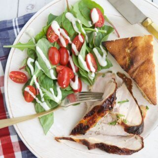 Get out of your grilling rut with this juicy, savory Grilled Turkey Breast recipe perfect for any time of the year.