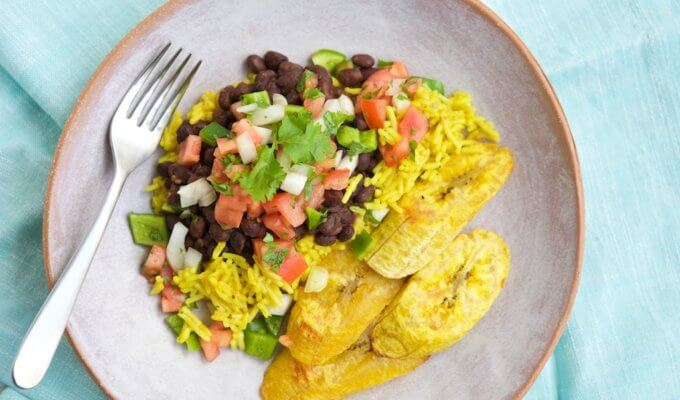 Vegetarian Cuban Dinner
