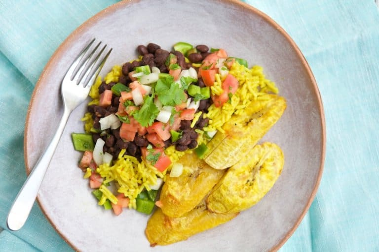Feed your family a fast, nutritious & delicious meal with this Quick Cuban Dinner. It's sure to please everyone and is a great choice for the young athletes in your home.