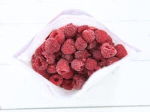 This 5 ingredient, easy Raspberry Chia Pudding is perfect for a chia newbie as a high fiber meal or snack. Customize it to your taste and preference.