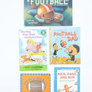 The best football books for kids to help them learn the game of football, cultivate excitement for Friday nights, and better understand our football life.