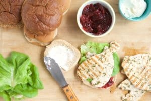 Turkey and cranberries are not just for Thanksgiving. Try this quick and healthy Turkey Cranberry Sandwich recipe, perfect for any day of the year.
