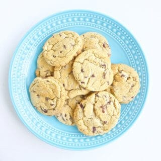 Look no further than this Chocolate Chip Cookie Recipe to be your go-to cookie from here on out. Two secret tricks make them the best cookies you've ever tasted.