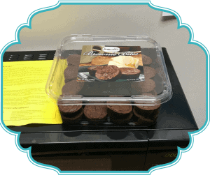 How to not eat the brownies in the break room
