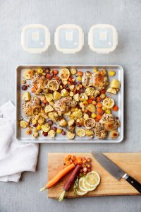 Sheet Pan Lemon Chicken
