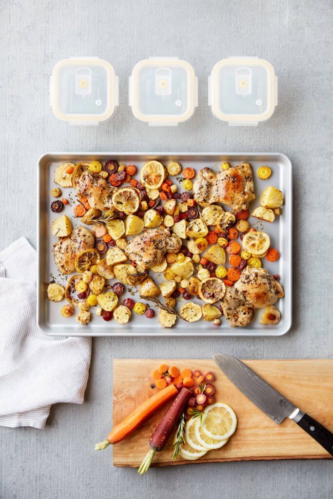 Sheet Pan Lemon Chicken And Help With Healthy Meal Plans Make